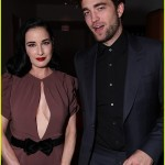Dita von Teese, Robert Pattinson