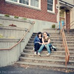 Alicia & Dani at Kalama, WA - Forks High School
