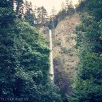 Twilight, Multnomah Falls, OR - Baseball Waterfall 1