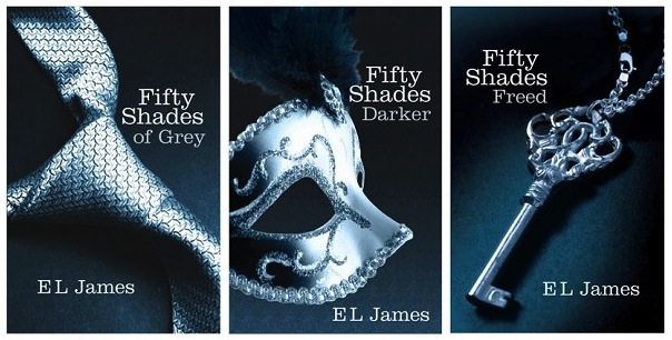 The fifty shades of grey trilogy sells more than 100 for 50 shades of grey films